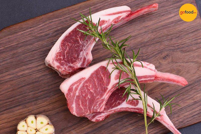 Gofood phân phối các phần thịt cừu sang trọng