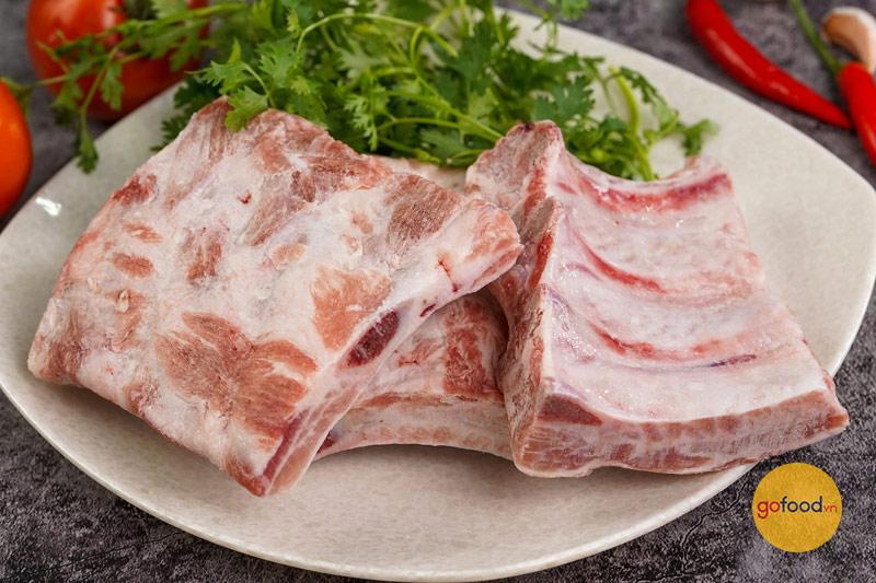 Thịt heo Iberico rất giàu dinh dưỡng