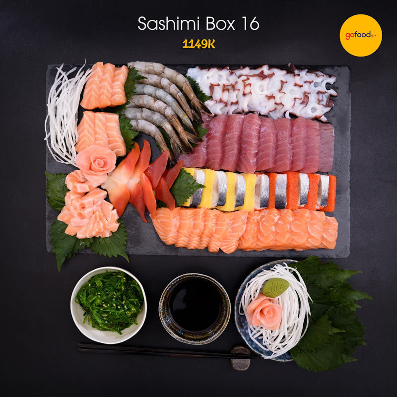 Set sashimi box 16