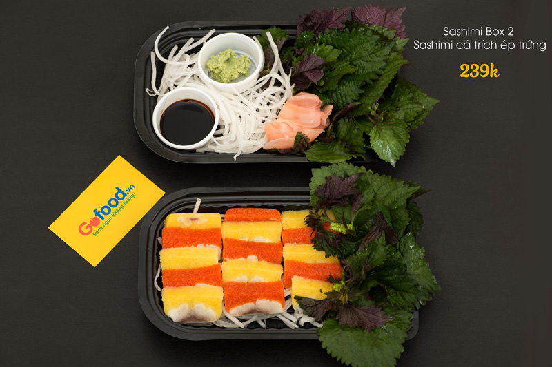 Set sashimi box 2