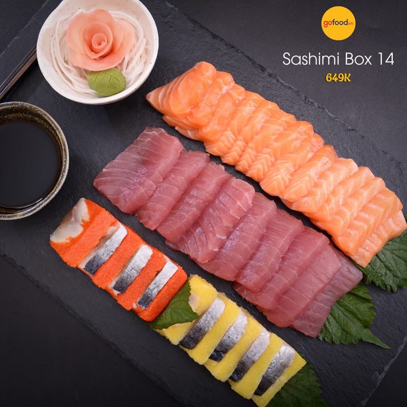Set sashimi box 14