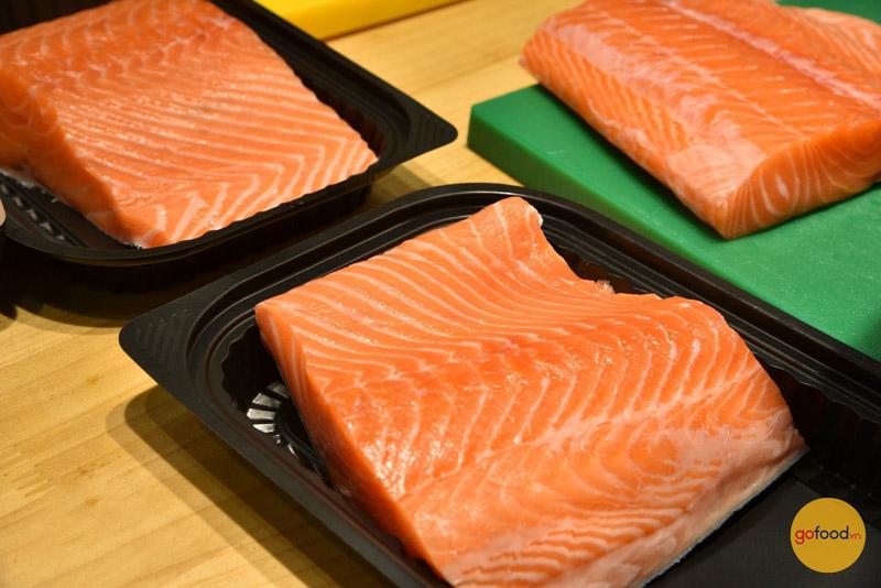 Cá hồi Nauy có hương vị thơm ngon, dễ ăn