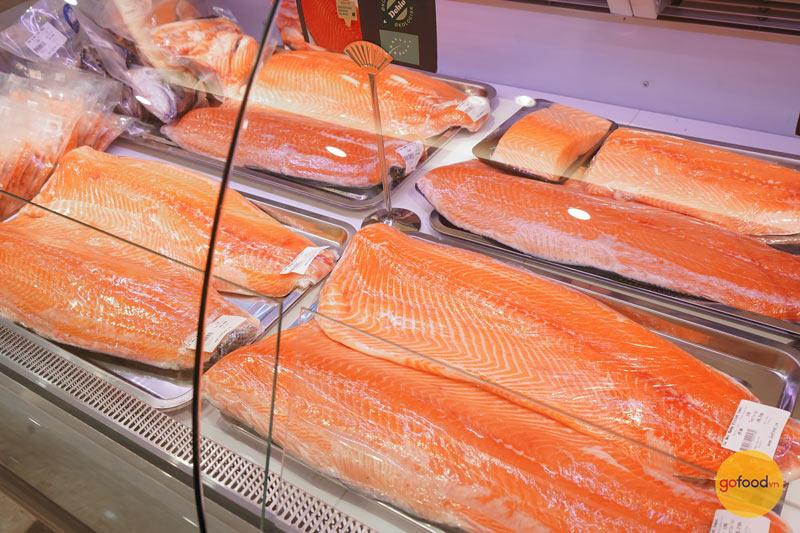 Gofood là đơn vị phân phối cá hồi Nauy chất lượng, uy tín