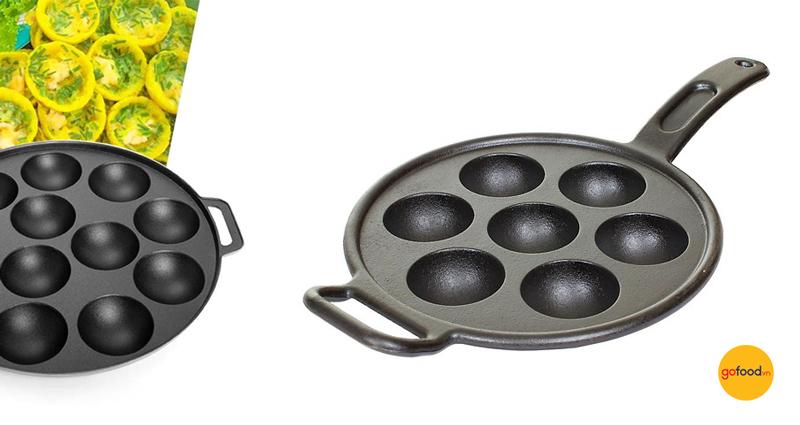 Chảo gang nướng bánh khọt