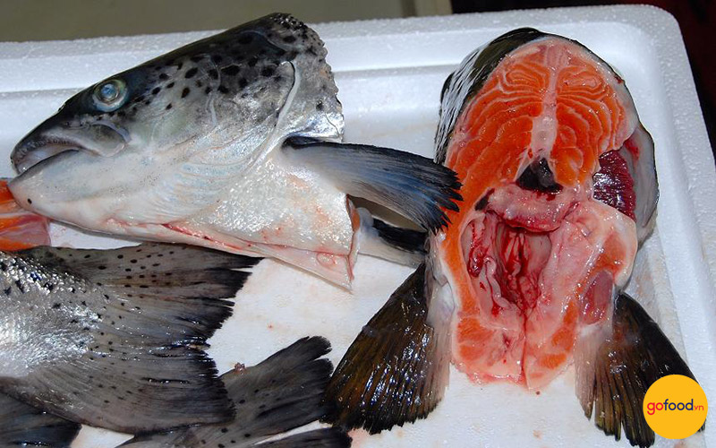 Đầu cá hồi Nauy vẫn mang lại nhiều giá trị dinh dưỡng
